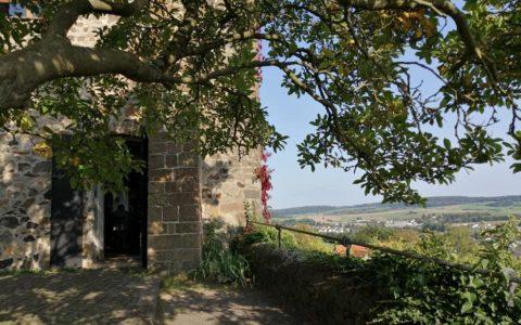 Auf der Burg Staufenberg im Sommer 2020