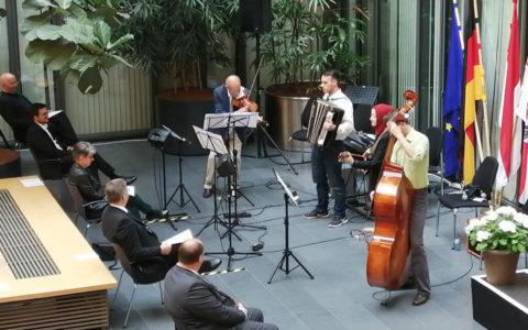 Das Multikulturelle Orchester am Tag der Deutschen Einheit 2020